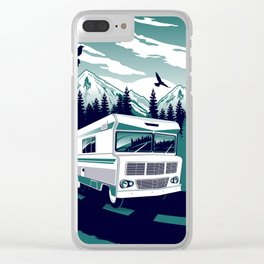 rv there yet? Clear iPhone Case
