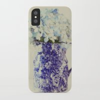 hydrangea iPhone & iPod Cases featuring Hydrangea by Beverly LeFevre