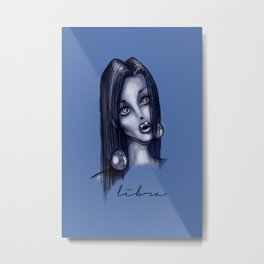 Libra Metal Print