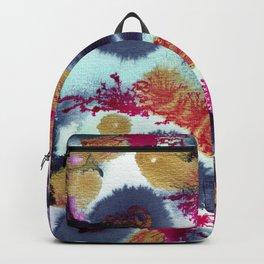 Ink and Watercolor Dancing Backpack