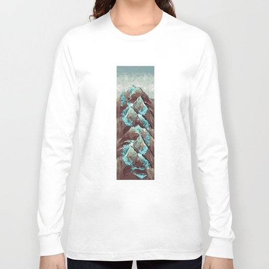 The Great, Great Night Mountain Long Sleeve T-shirt
