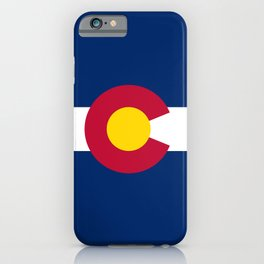 Colorado State Flag iPhone Case