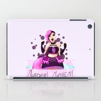 magical girl iPad Cases featuring Chaotic Neutral Magical Girl by Rhen Sawyer