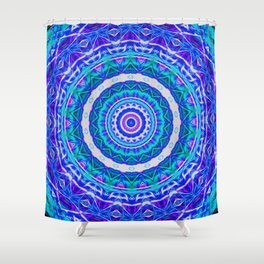 Neptune's Glow Shower Curtain