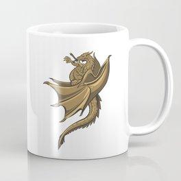 Brown Dragon Coffee Mug