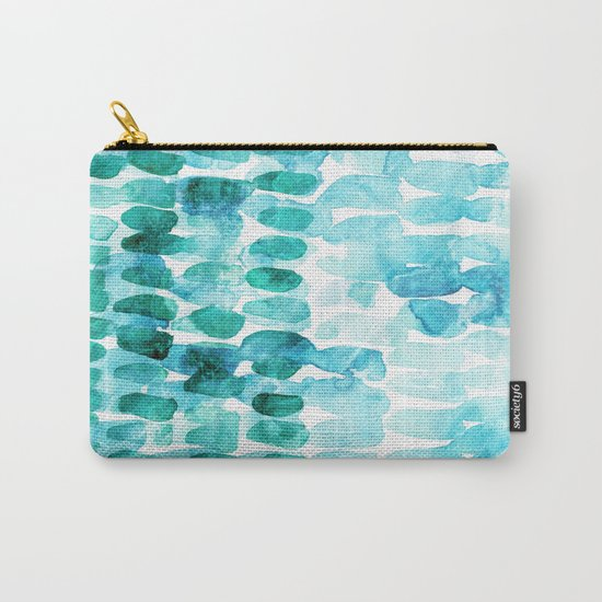 Abstract Ocean Dreams Carry-All Pouch