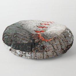 Baseball art Floor Pillow