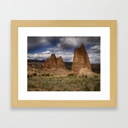Cathedral  Valley Framed Art Print