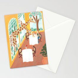 Giraffes in Nairobi Stationery Cards