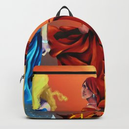 Dancers of Fire and Ice Backpack