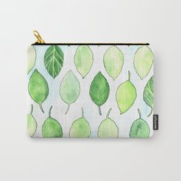 Happy Leaves Carry-All Pouch