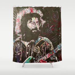 Cosmic Charlie Shower Curtain