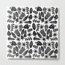 Cashew Pattern Metal Print