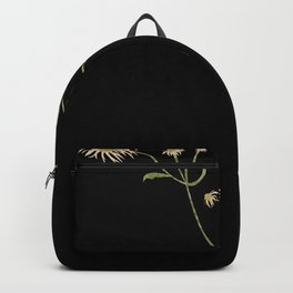 Collage of a Flowering Weed Backpack