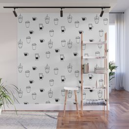 Everything In My Life Has Something To Do With Coffee Wall Mural