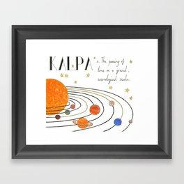 Kalpa Framed Art Print
