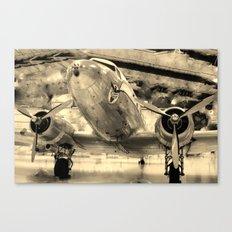 Galveston Air Museum Canvas Print