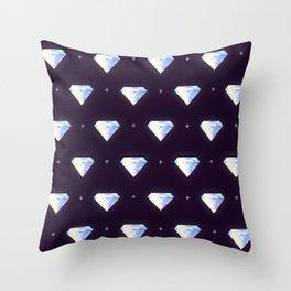Diamonds pattern Throw Pillow