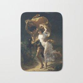 The Storm, 1880 by Pierre Auguste Cot Bath Mat