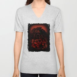 WOLFTHRONE Unisex V-Neck