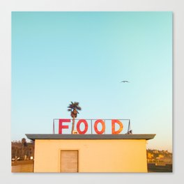 """FOOD"" Canvas Print"
