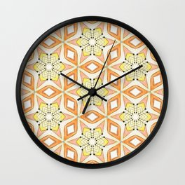 Connect the Dots Hexi Wall Clock