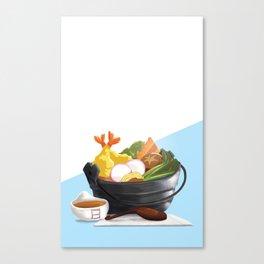 Nabeyaki Udon Canvas Print