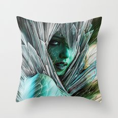 Winter she comes... Throw Pillow
