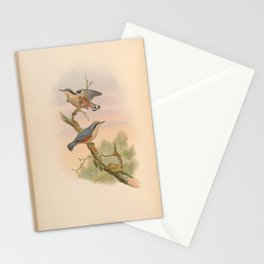 Naga Nuthatch2 Stationery Cards