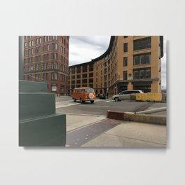 Boston Buggy Metal Print