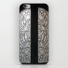 Birds in the Window  iPhone Skin
