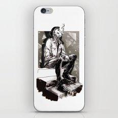 He smokes iPhone & iPod Skin
