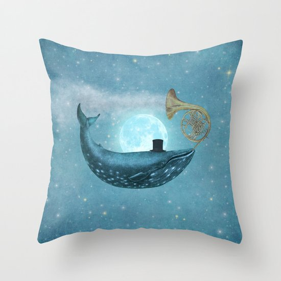 Cloud Maker  Throw Pillow