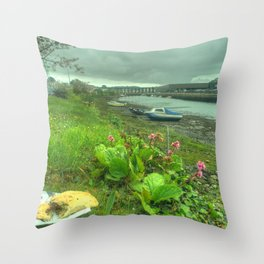 Pasty of Hayle Throw Pillow