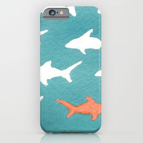 Splashy Sharks iPhone & iPod Case