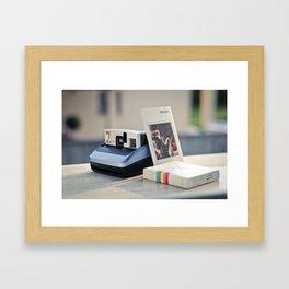 Never Ending Polaroid Framed Art Print