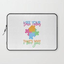 Autism Colors v1.0 Laptop Sleeve