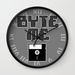 Byte Me Wall Clock