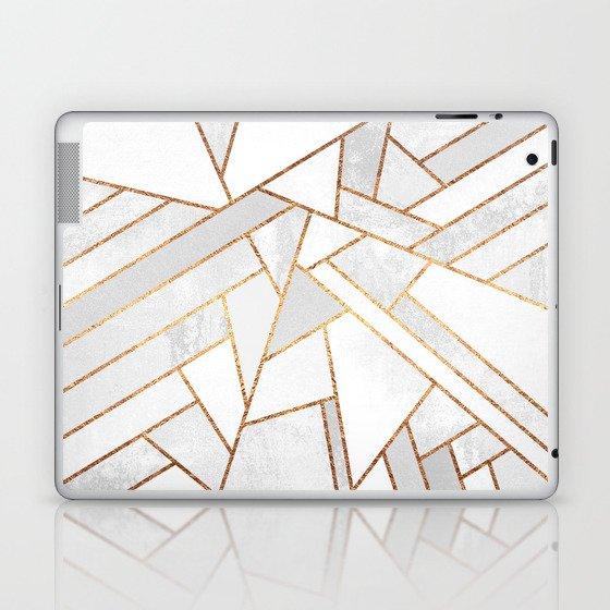 White Night Laptop & iPad Skin