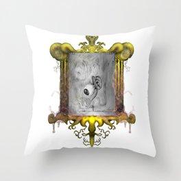 Misperception - no background Throw Pillow