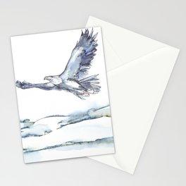 Flying Eagle, Hudson Valley (center) Stationery Cards