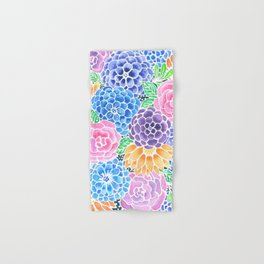 Masked Flora Collection Bloom Hand & Bath Towel