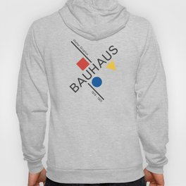 Bauhaus Movement Poster Artwork, 1919 Walter Gropius Reproduction, tshirt, tee, jersey, poster, artw Hoody