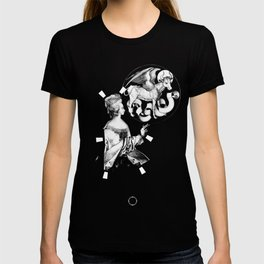 Playing irrational cards in the creation of some kind of new Mystical Symbols. T-shirt