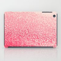 coral iPad Cases featuring CORAL by Monika Strigel