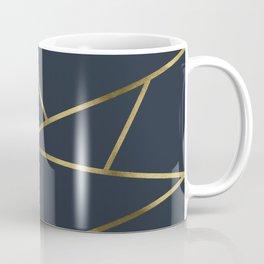 Copper and Midnight Navy #society6 #decor #buyart #artprint Coffee Mug