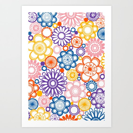 BOLD & BEAUTIFUL quirky Art Print