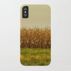 Corn Lines Slim Case iPhone X