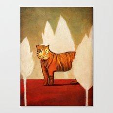 Twilight of the Sumatran Tiger Canvas Print