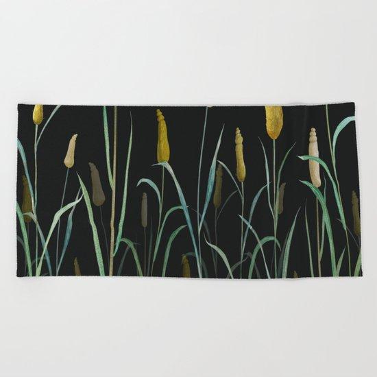 Prairie at Night Beach Towel